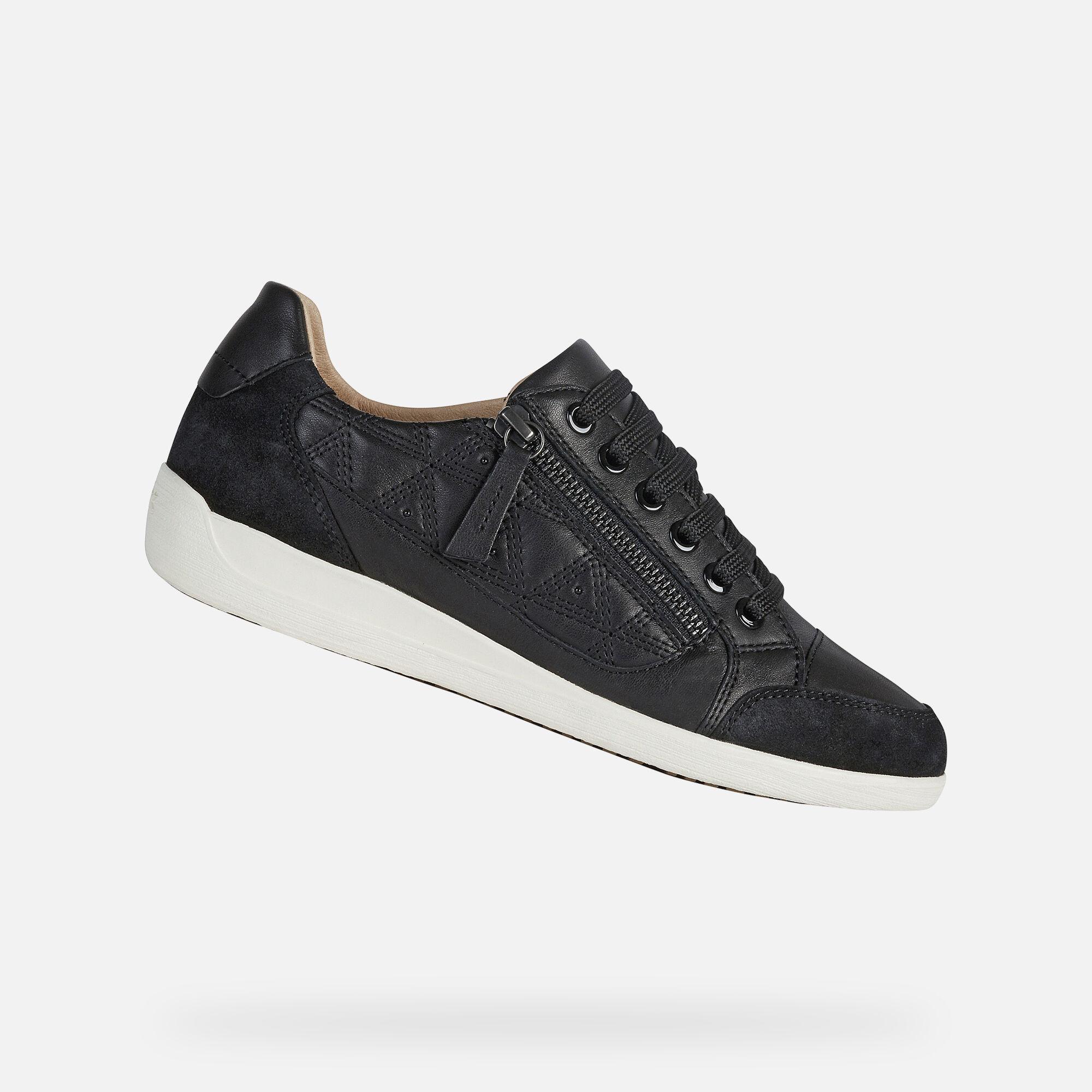 Geox MYRIA Woman: Black Sneakers | Geox