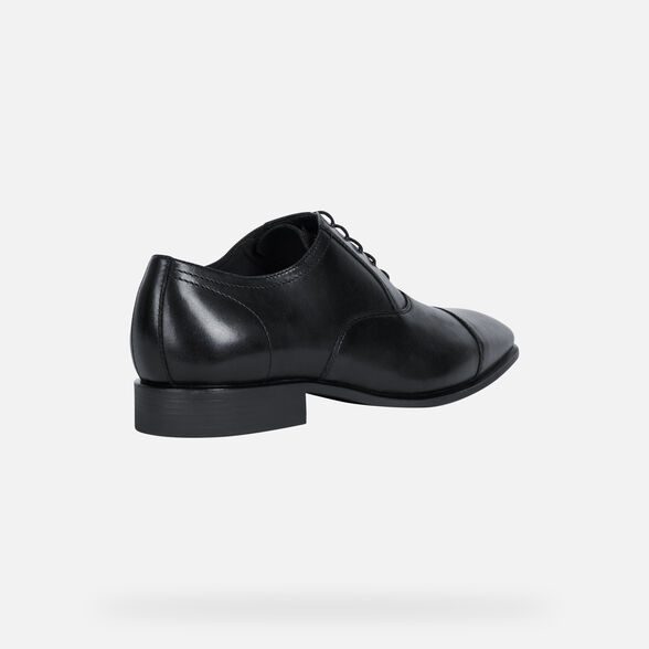 ZAPATOS FORMALES HOMBRE GEOX HIGH LIFE HOMBRE - NEGRO