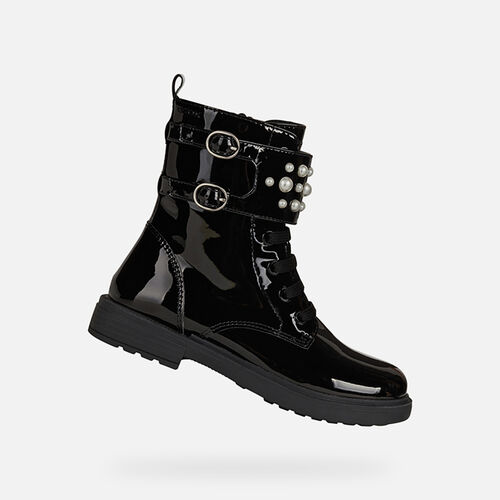 MID-CALF BOOTS GIRL GEOX ECLAIR GIRL - null