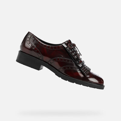 LACE UPS & BROGUES WOMAN GEOX BETTANIE WOMAN
