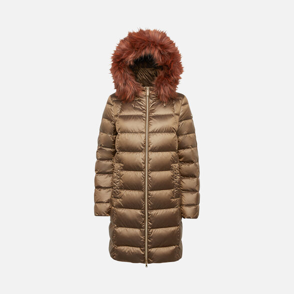 WOMAN DOWN JACKETS GEOX BLENDA WOMAN - 1