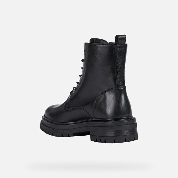 WOMAN ANKLE BOOTS GEOX IRIDEA WOMAN - 4