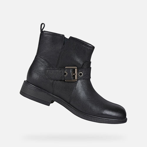 ANKLE BOOTS WOMAN GEOX CATRIA WOMAN - null