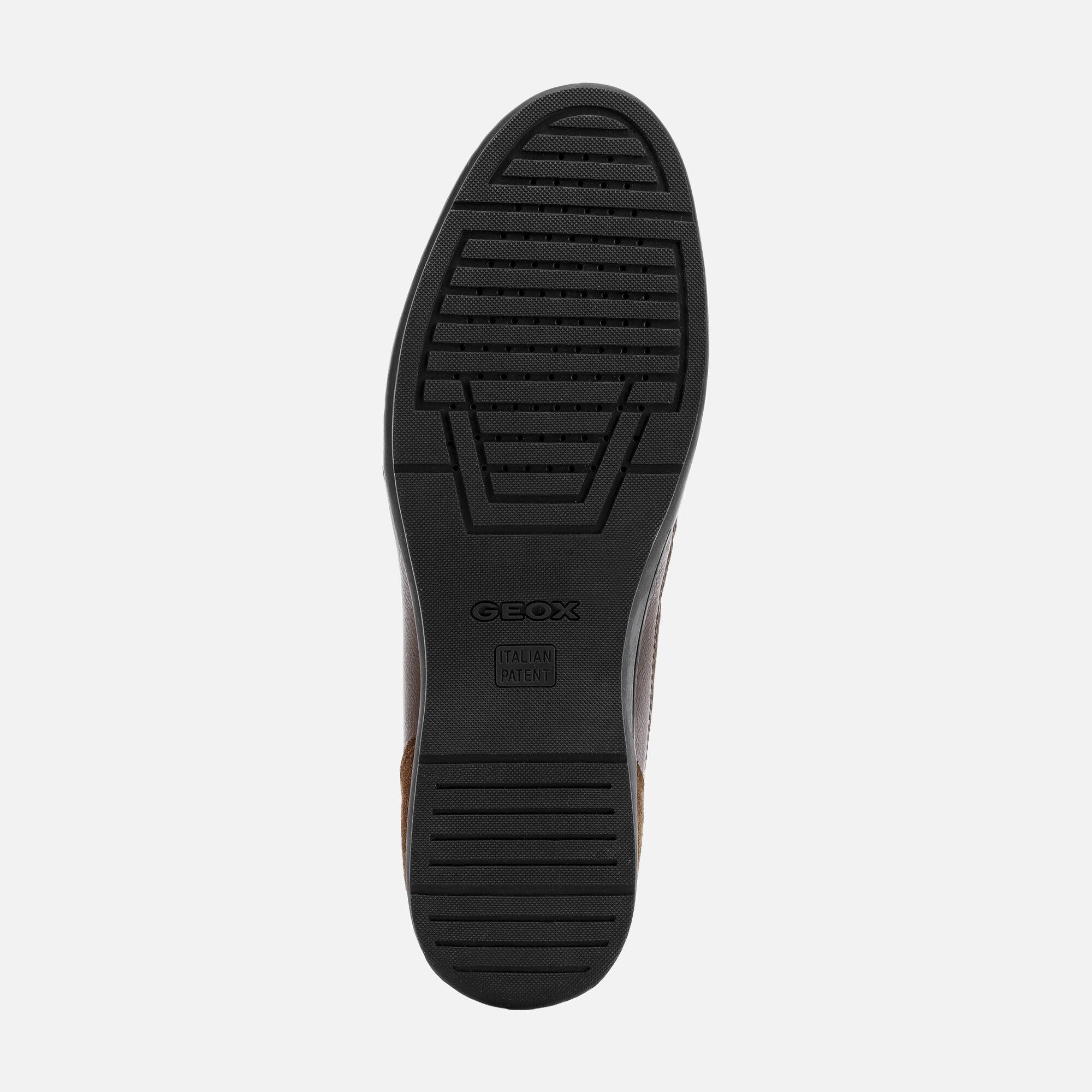 Geox ADRIEN Scarpe Casual Marroni Uomo   Geox® Online store
