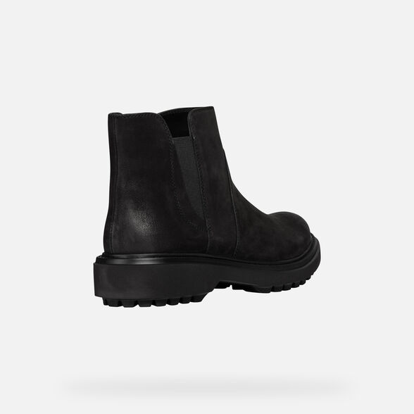 ANKLE BOOTS WOMAN GEOX ASHEELY WOMAN - 5