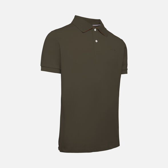 T-SHIRTS MAN GEOX SUSTAINABLE MAN - GREEN MOSS