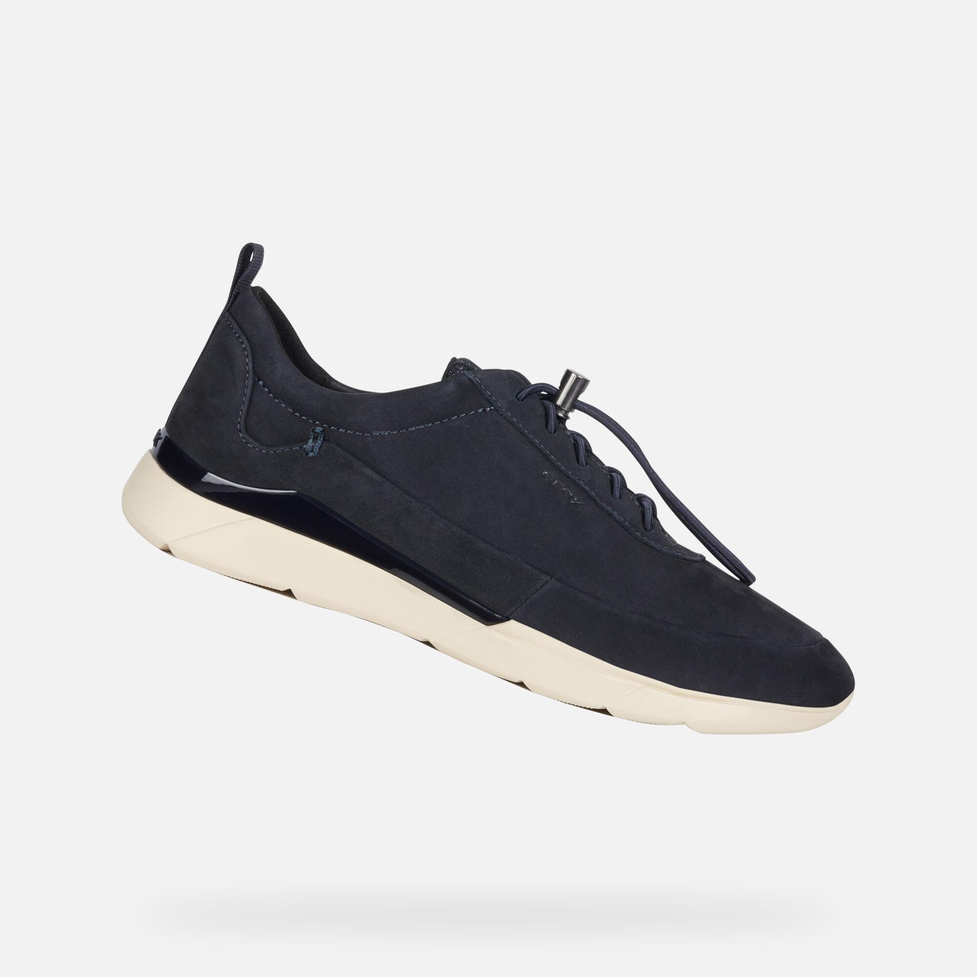 Sneakers Geox Blu Donna Vendita Online :