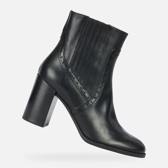 ANKLE BOOTS WOMAN GEOX JACY WOMAN - 1