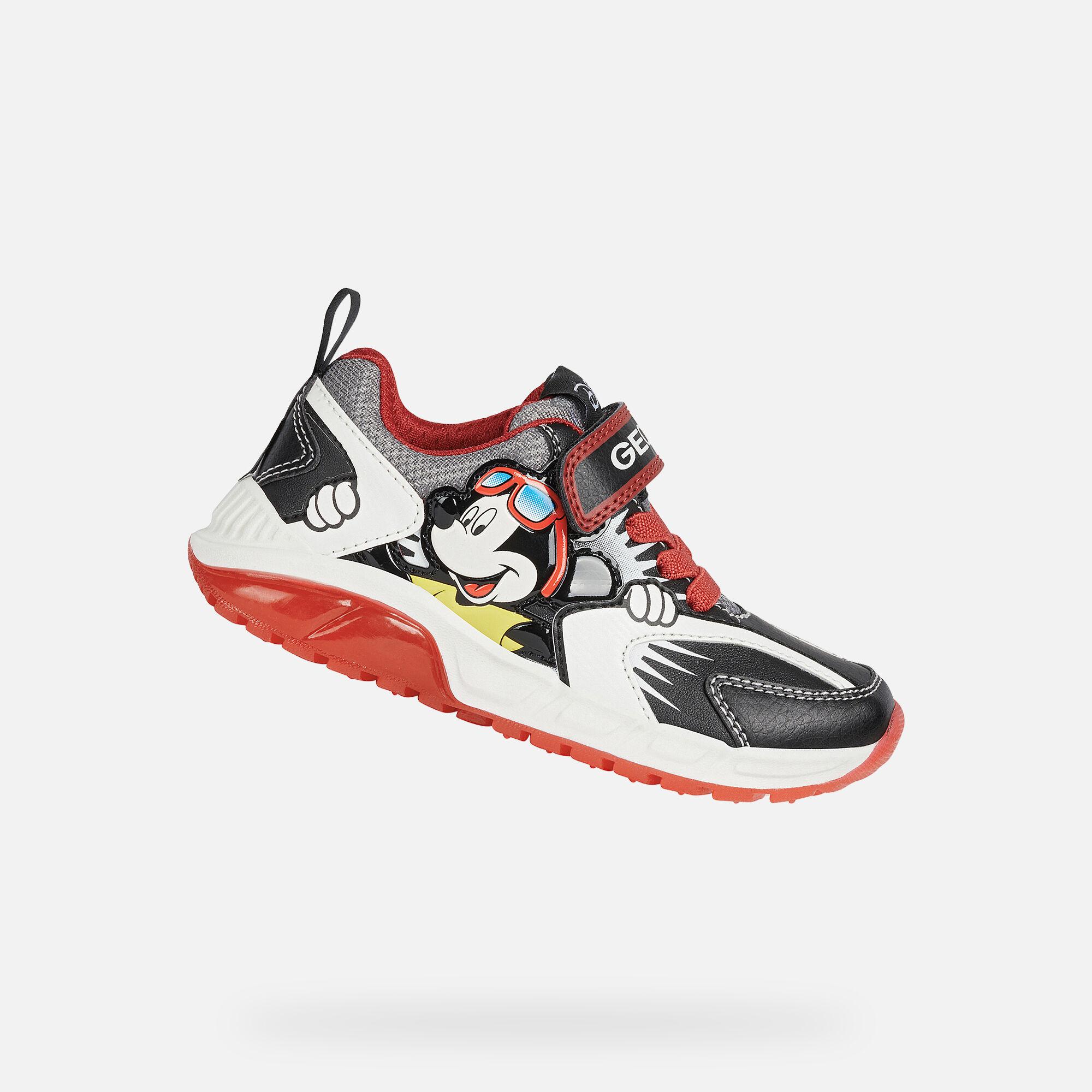geox black sneakers