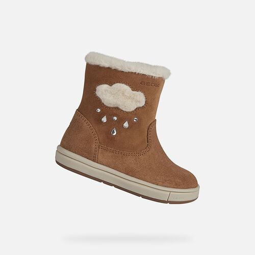 MID-CALF BOOTS BABY GEOX TROTTOLA BABY GIRL - null