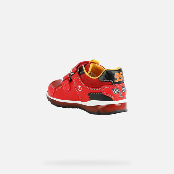 DISNEY BABY GEOX TODO BABY BOY - RED AND BLACK
