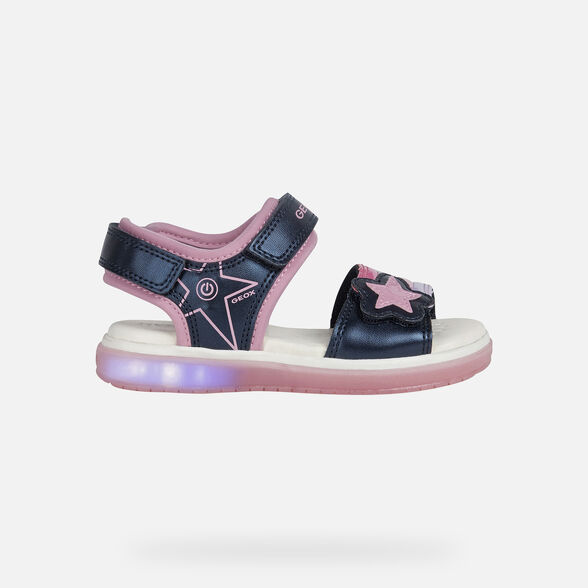 LIGHT-UP SHOES GIRL GEOX BLIKK GIRL - 8