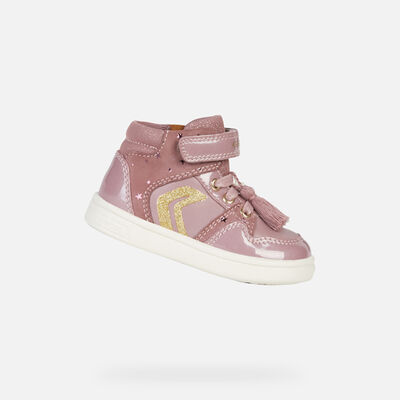 HIGH TOP BABY GEOX DJROCK BABY GIRL