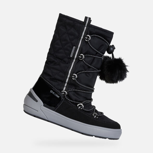 GIRL ANKLE BOOTS GEOX SLEIGH ABX GIRL - 1