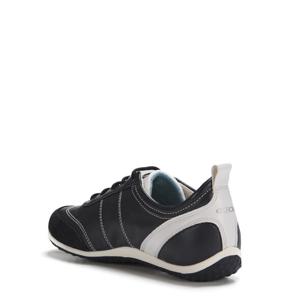 Geox Xled Boy Trainers Kids White Shoes Classic Quality