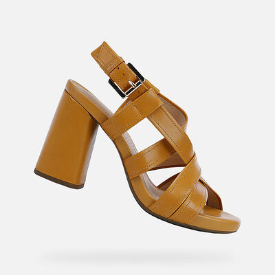 SANDALS WOMAN GEOX GENZIANA WOMAN