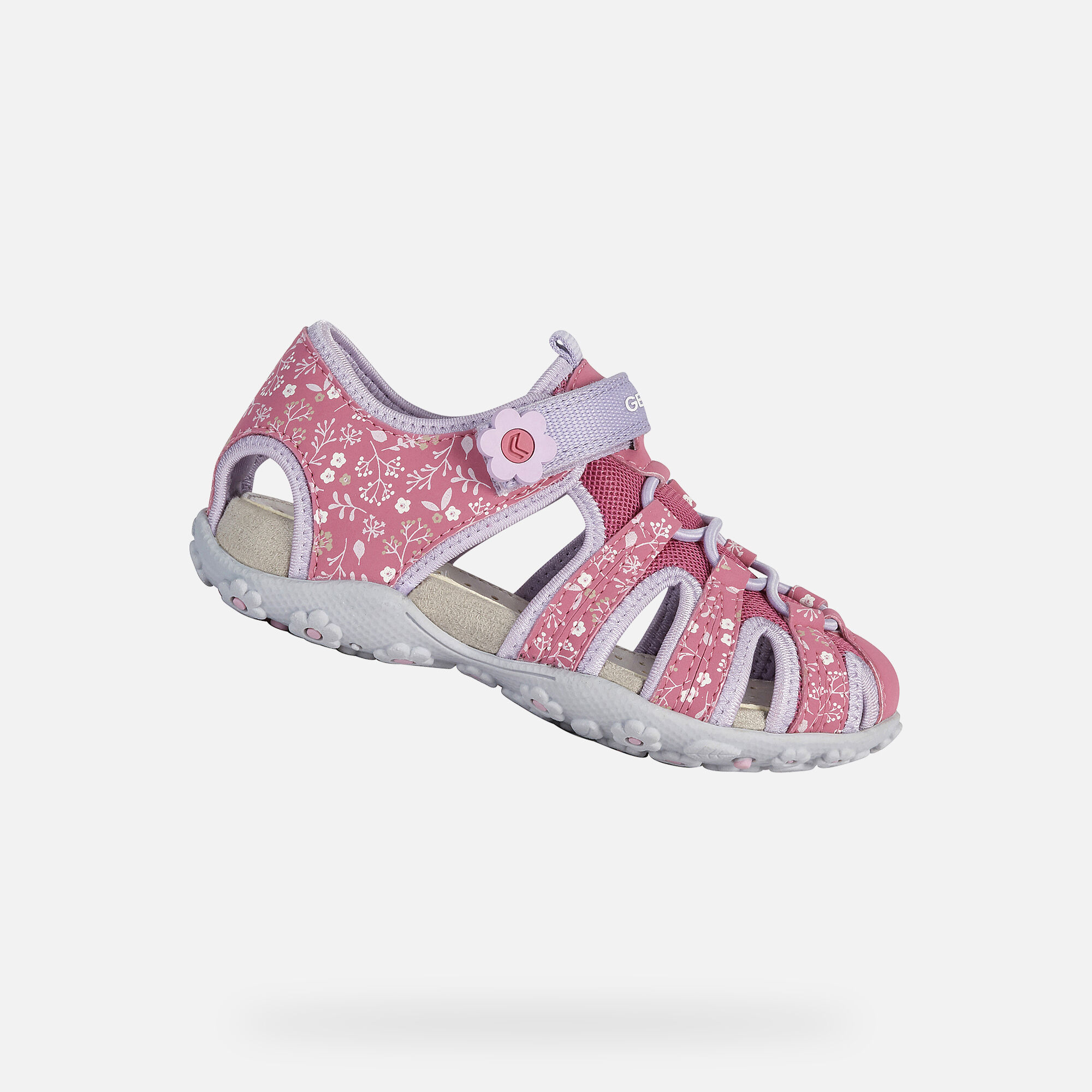 Geox Girl's 'Roxanne' Fuchsia Sandal