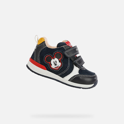 MICKEY MOUSE BABY GEOX RISHON BABY BOY - null