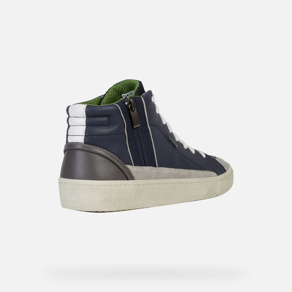SNEAKERS MAN GEOX WARLEY MAN - 5