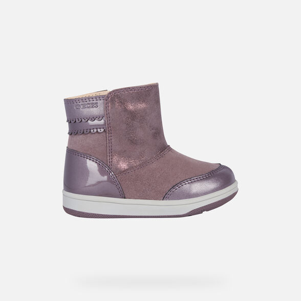 ANKLE BOOTS BABY GEOX NEW FLICK BABY GIRL - 2