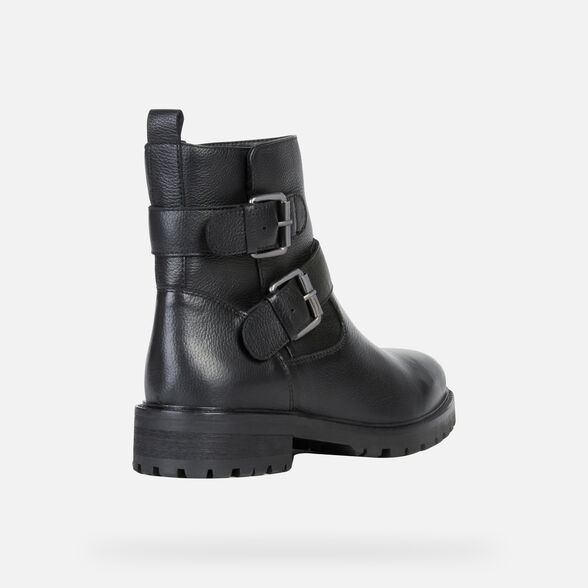 WOMAN ANKLE BOOTS GEOX HOARA WOMAN - 5