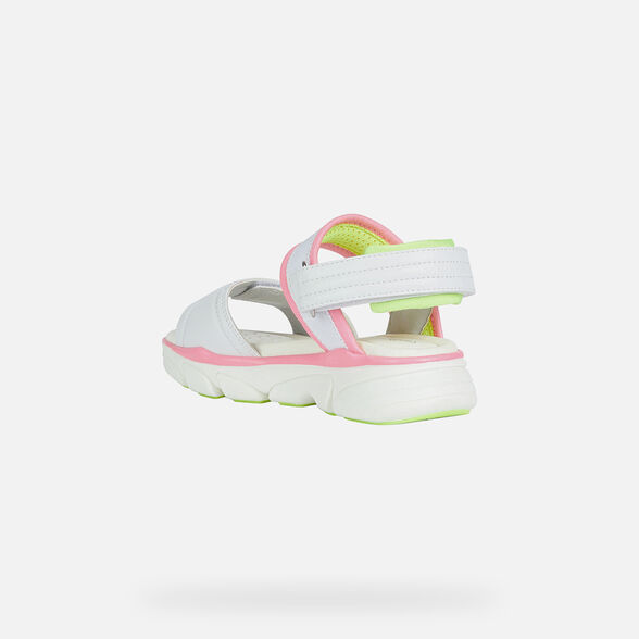 GIRL SANDALS GEOX LUNARE GIRL - 4