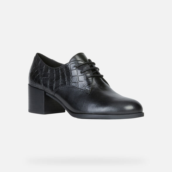 LACE UPS AND BROGUES WOMAN GEOX JACY WOMAN - 3