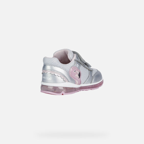 BABY LIGHT-UP SHOES GEOX TODO BABY GIRL - 5