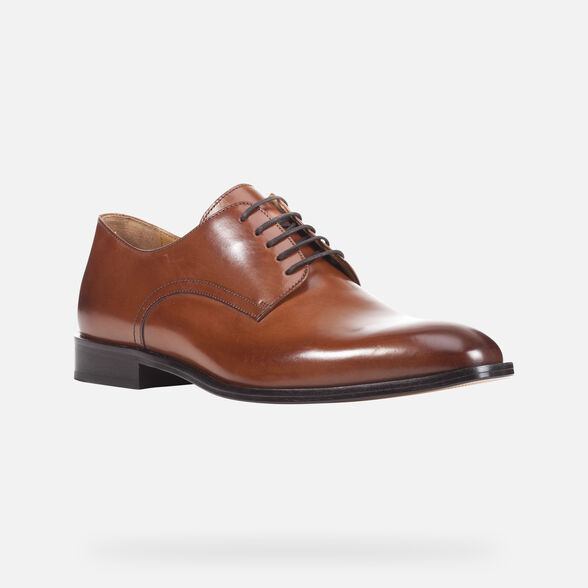 MAN FORMAL SHOES GEOX SAYMORE MAN - 3