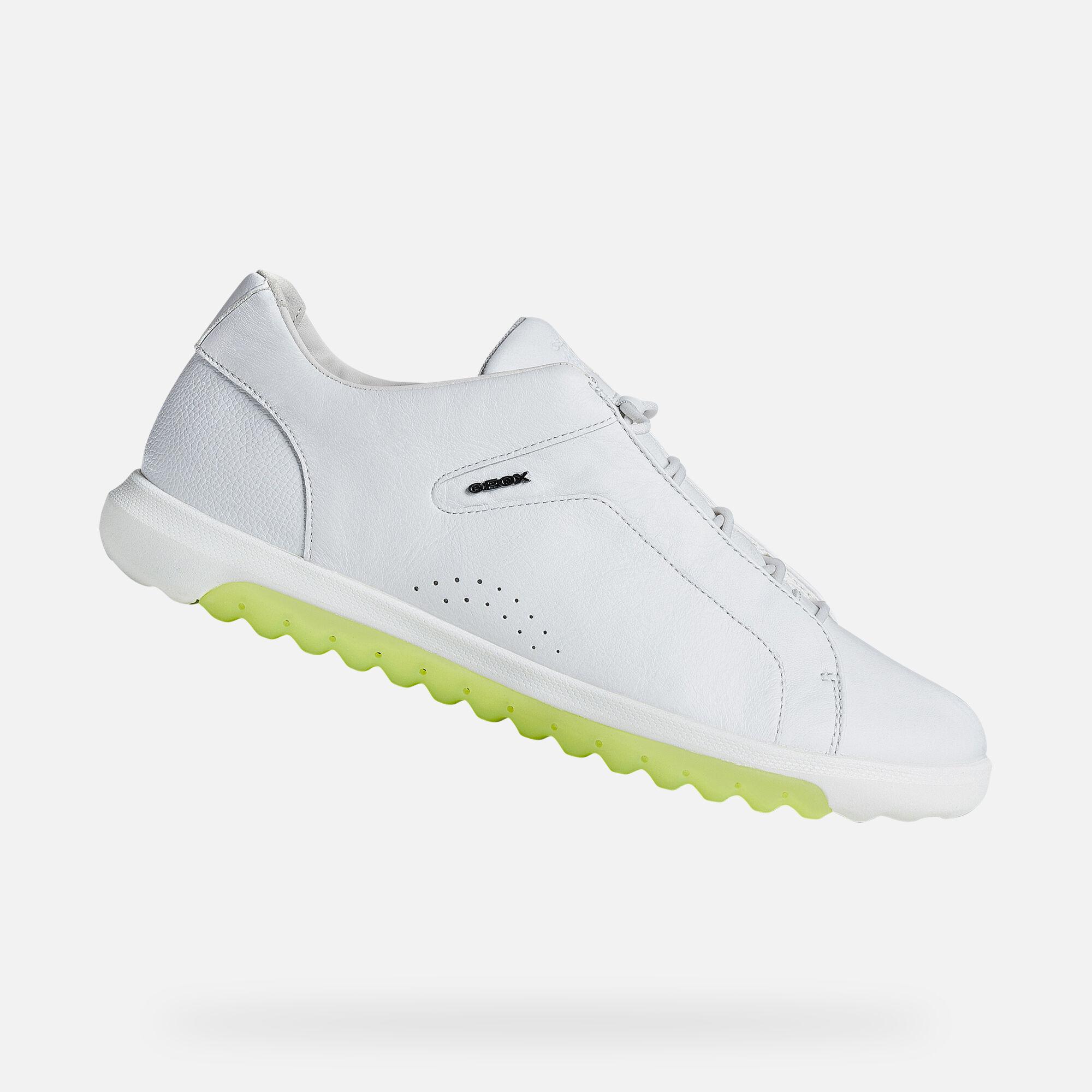 Geox NEXSIDE Man: White Sneakers | Geox