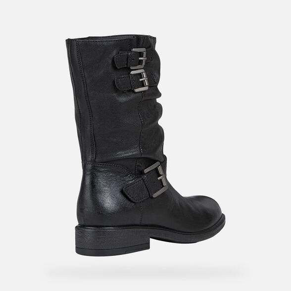 WOMAN ANKLE BOOTS GEOX CATRIA WOMAN - 5