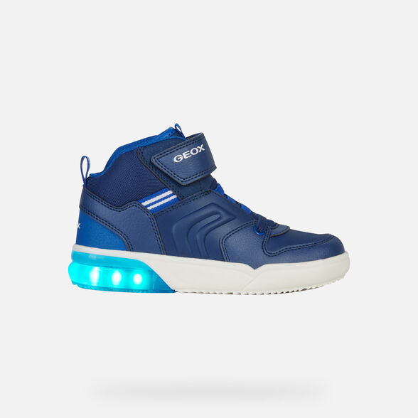 LIGHT-UP SHOES BOY GEOX GRAYJAY BOY - 8