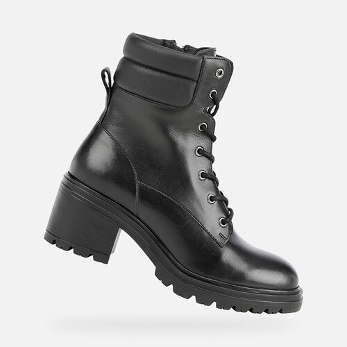 ANKLE BOOTS WOMAN GEOX DAMIANA WOMAN - null