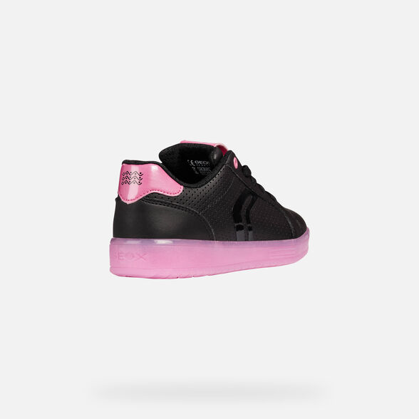 CHAUSSURES LED FILLE GEOX KOMMODOR FILLE - 6