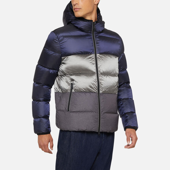 DOWN JACKETS MAN GEOX KASPAR MAN - 4