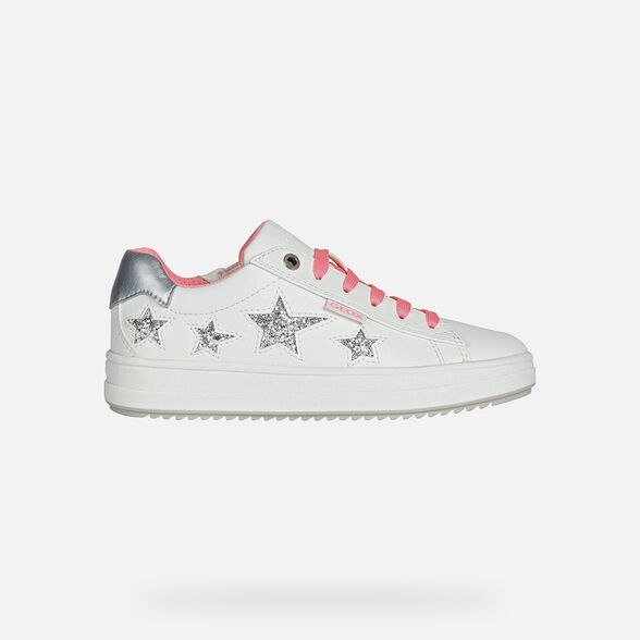 FILLE SNEAKERS GEOX REBECCA FILLE - 2