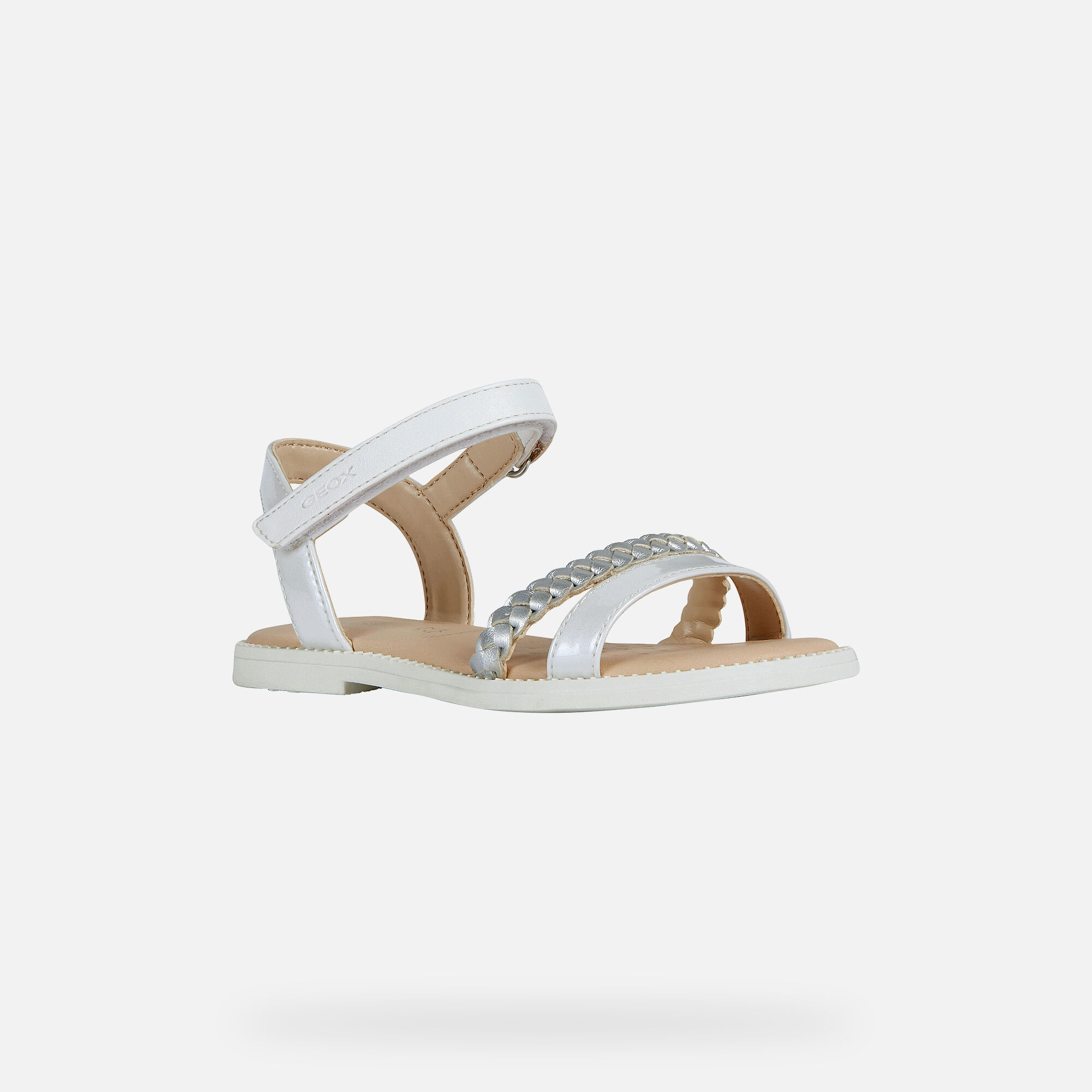 Geox Karly sandalia blanca