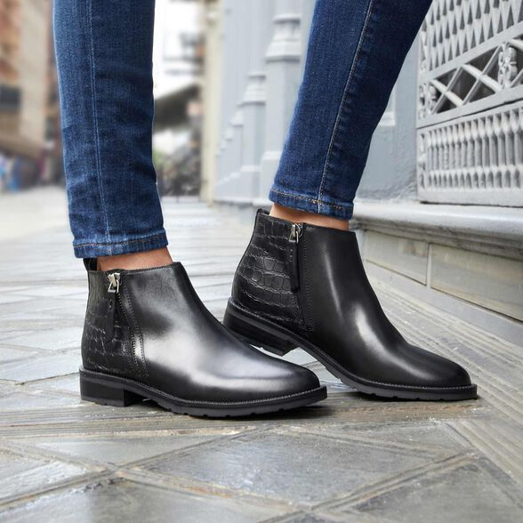 ANKLE BOOTS WOMAN GEOX BETTANIE WOMAN - 9
