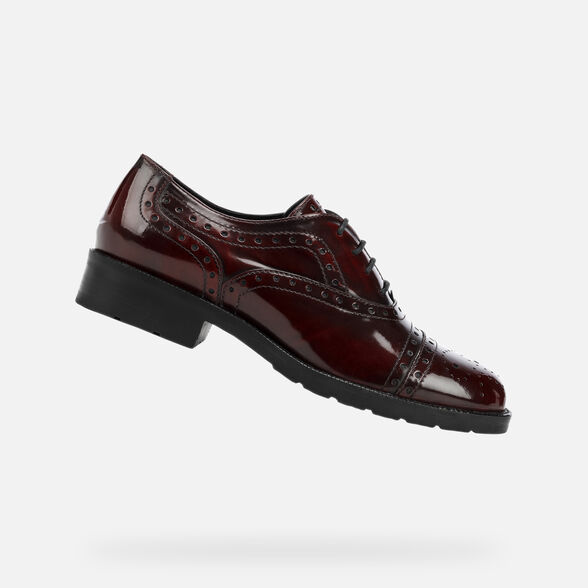 LACE UPS AND BROGUES WOMAN GEOX BETTANIE WOMAN - 1