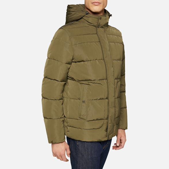 DOWN JACKETS MAN GEOX HILSTONE MAN - 4