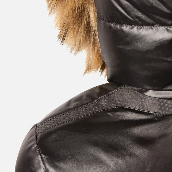BOMBER JACKETS WOMAN GEOX BACKSIE WOMAN - BLACK