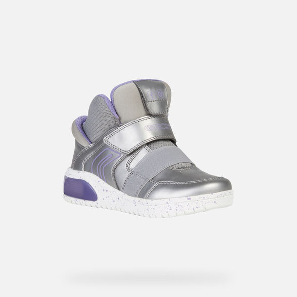 LIGHT-UP SHOES GIRL GEOX XLED GIRL - 4