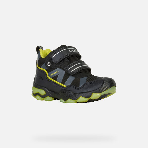 LIGHT-UP SHOES BOY GEOX BULLER ABX BOY - 3