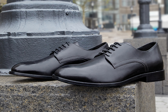Leather shoes with leather sole Geox