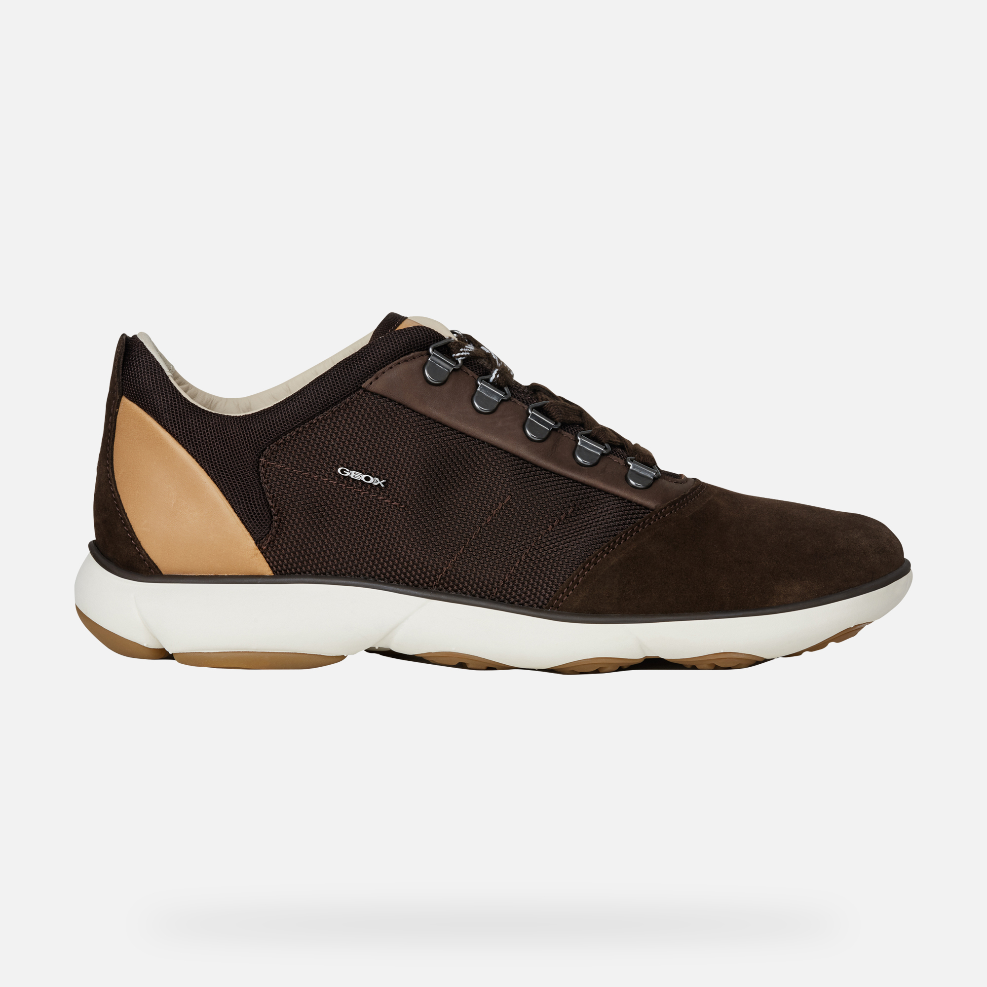 Geox U NEBULA: Brown Man Sneakers