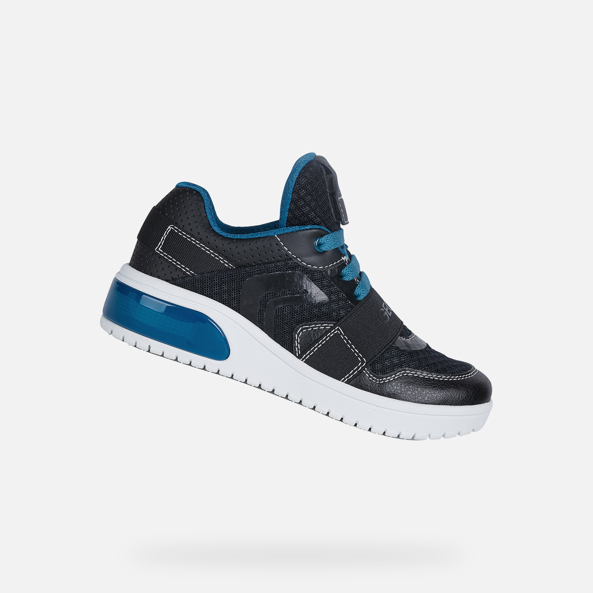 Geox XLED Bambino: Sneakers Nere | Geox SS 20