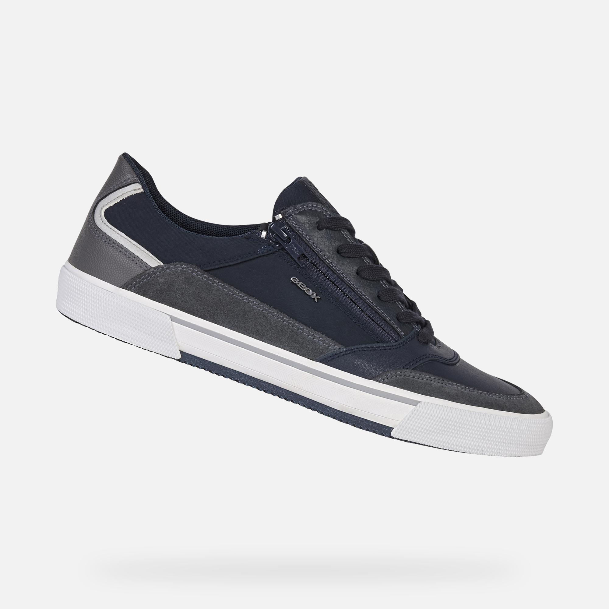 Geox U Kaven E Chaussures Hommes High Top Sneaker Lacets Black u046me022mec9997