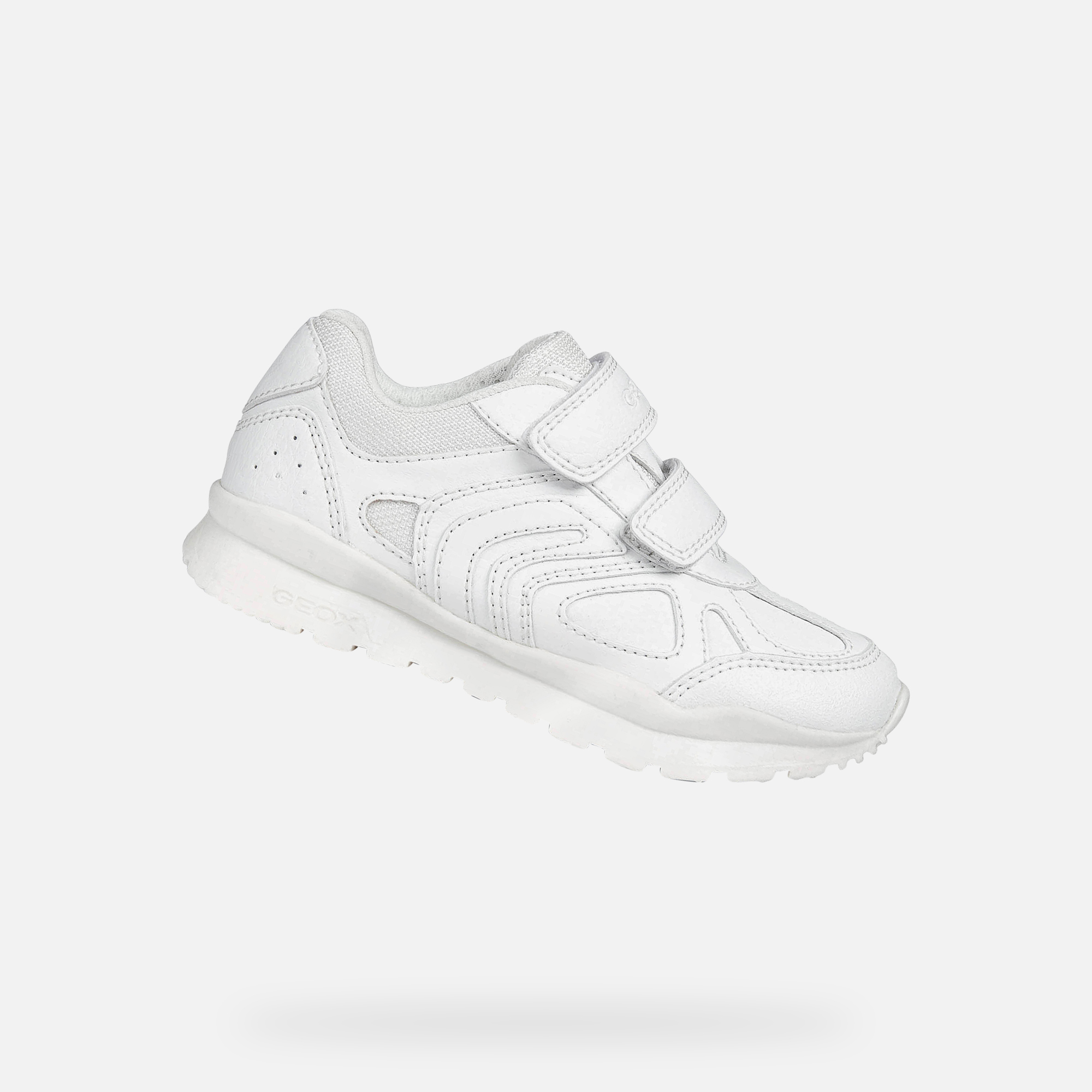 Geox PAVEL Boy: White Sneakers   Geox