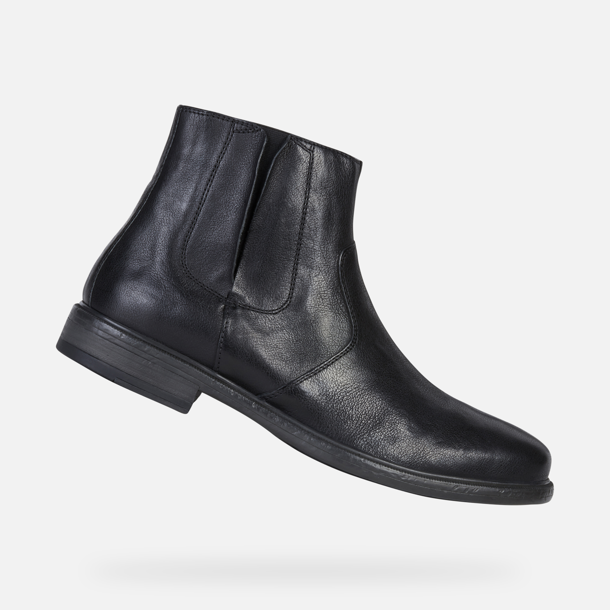 Geox TERENCE Man: Black Ankle Boots   Geox Fall Winter