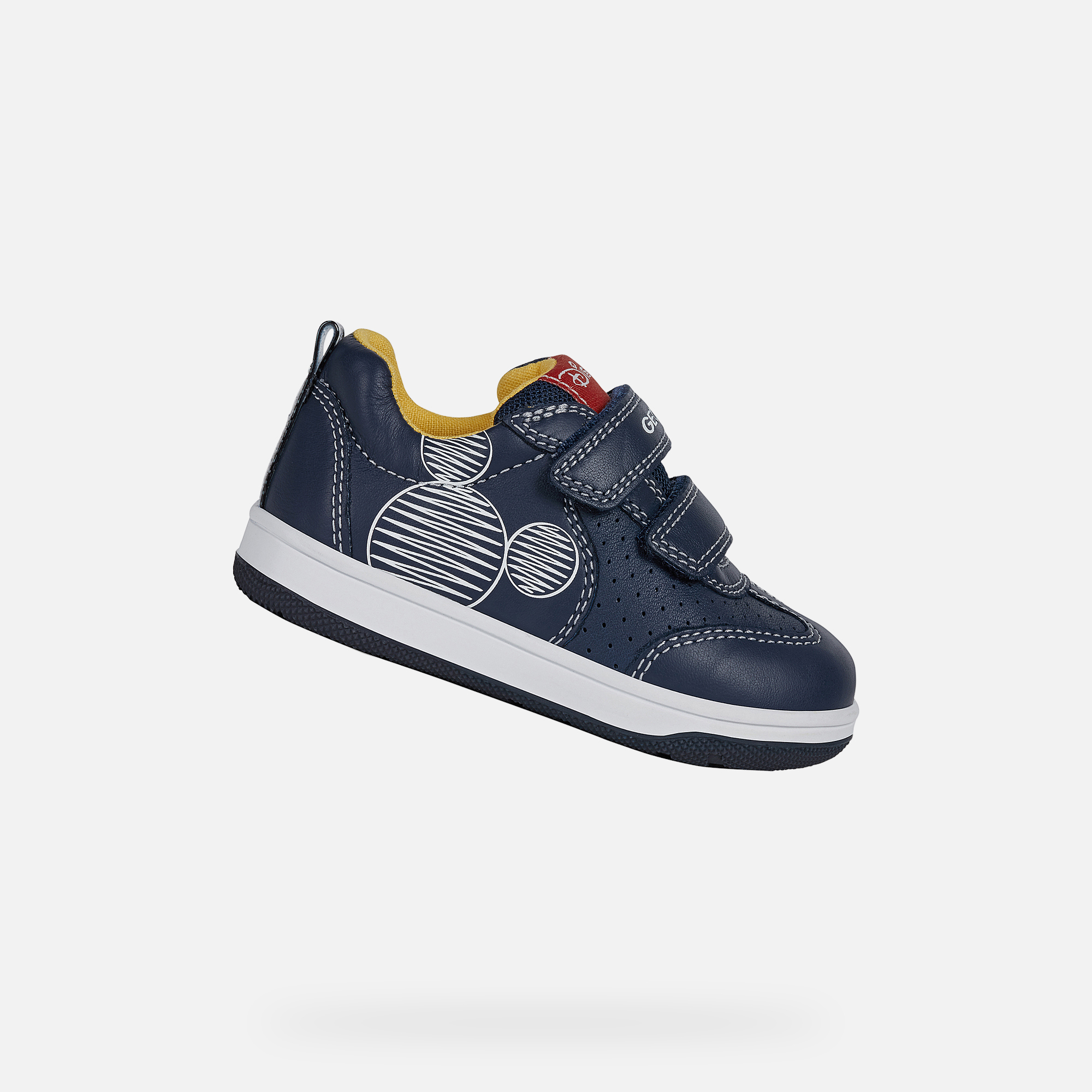 Geox NEW FLICK BABY JUNGE: Navyblau Sneakers | Geox ® SS 20 HuZhz